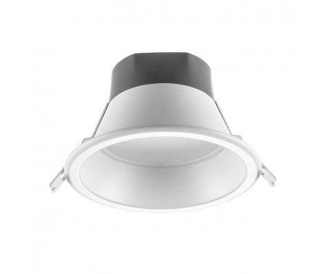 Noxion LED Downlight Vero 12W 1200lm 4000K Cutout Ø150mm Frame Ø167 Alu Reflector