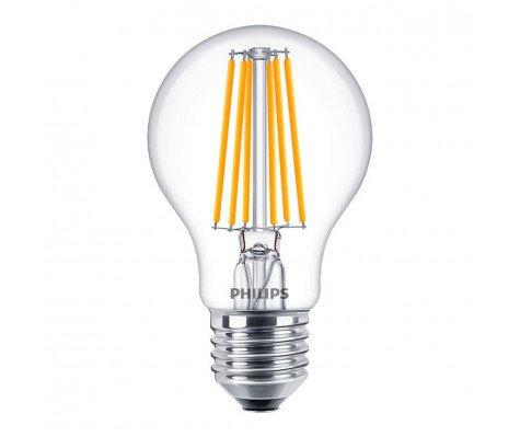 Philips Classic LEDbulb E27 8W 865 Kooldraad | Vervanger voor 75W