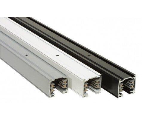 3 phase railsystem - 1m - Aluminium