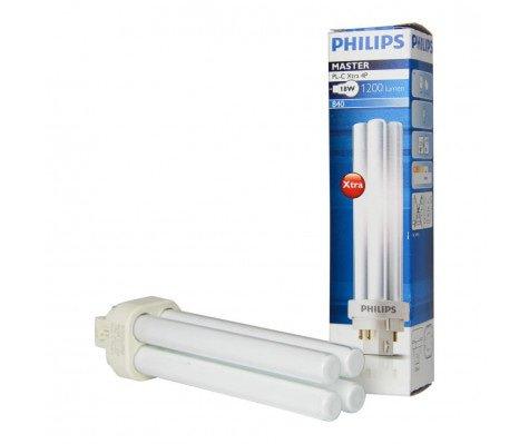 Philips PL-C Xtra 18W 840 4P (MASTER)