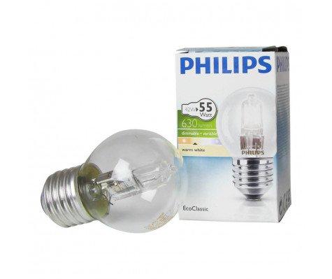 Philips EcoClassic Lustre 42W E27 230V P45 Helder