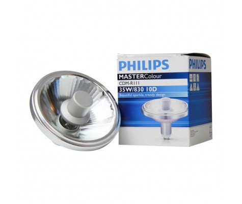 Philips MASTERColour CDM-R111 35W 830 GX8.5 10D