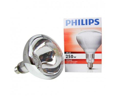 Philips BR125 IR 250W E27 230-250V CL 1CT/10