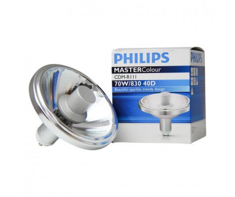 Philips MASTERColour CDM-R111 70W 830 GX8.5 40D