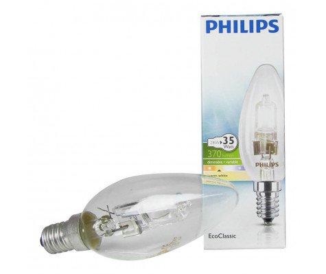 Philips EcoClassic 28W E14 230V B35 Helder