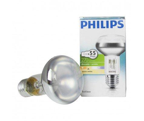Philips EcoClassic 42W E27 230V NR63 Helder