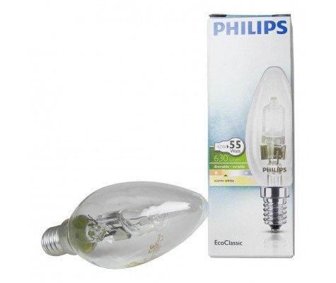 Philips EcoClassic 42W E14 230V B35 Helder