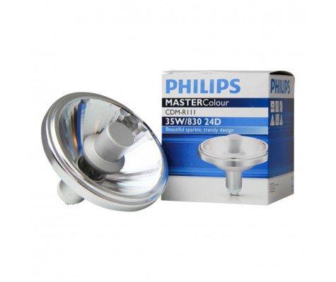 Philips MASTERColour CDM-R111 35W 830 GX8.5 24D