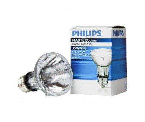 Philips MASTERColour CDM-R 35W 942 E27 PAR20 10D