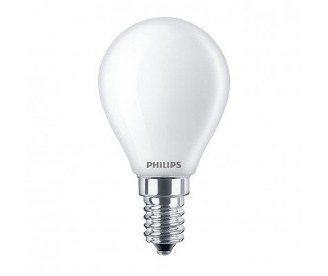 Philips Classic LEDlustre E14 P45 2.2W 827 Mat | Vervangt 25W