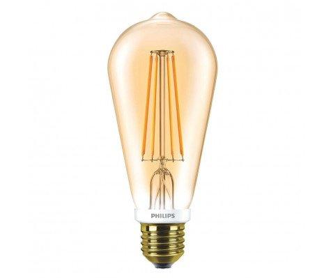 Philips Classic LEDbulb E27 Edison 7W 820 Goud   Dimbaar - Vervangt 50W