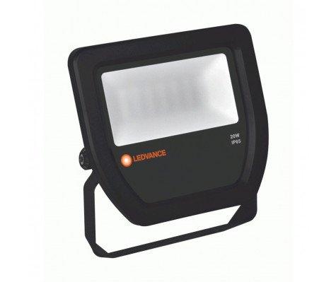 Ledvance LED Breedstraler 20W 3000K 2100lm IP65 Zwart | Vervangt 50W