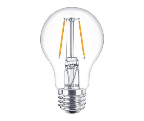 Philips Classic LEDbulb E27 A60 4W 827 Helder | Vervangt 40W
