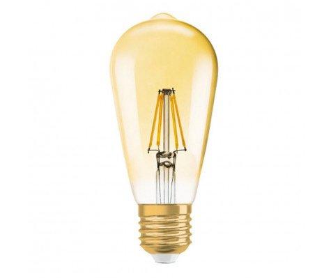Osram Vintage 1906 LED E27 Edison 2.5W 824 Goud   Vervangt 22W