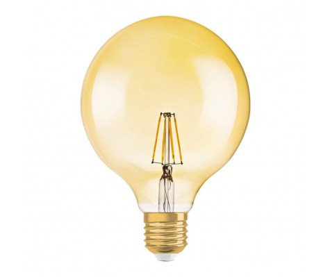 Osram Vintage 1906 LED E27 Globe 4W 824 Goud | Vervangt 35W