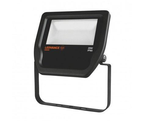Ledvance LED Breedstraler 20W 4000K 2000lm IP65 Zwart | Vervangt 50W