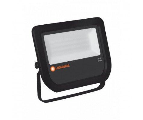 Ledvance LED Breedstraler 50W 4000K 5500lm IP65 Zwart | Vervangt 100W