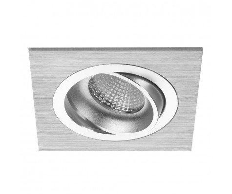 Noxion LED Spot Boxi 2700K Aluminium | Dimbaar