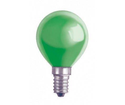 Lustre E14 15W 230V Green