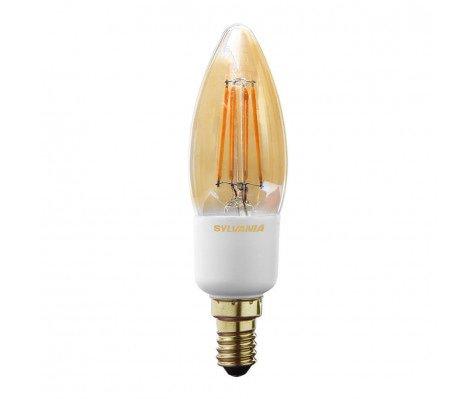 Sylvania ToLEDo RETRO Candle 4,5W 260lm golden Dim 1700K E14