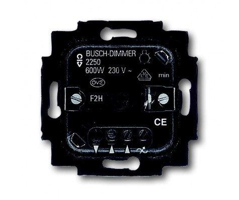 Busch-Jaeger 6515-0-0704 - Dimmer Switch 60-600W 50Hz Insert