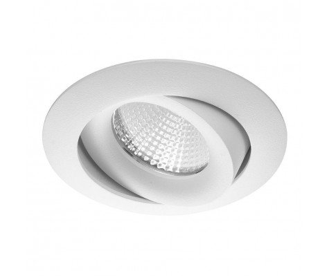 Noxion LED Spotlight Flox COB White 7W 9V 827 Cut. Ø70mm 40° tilt. dimmable