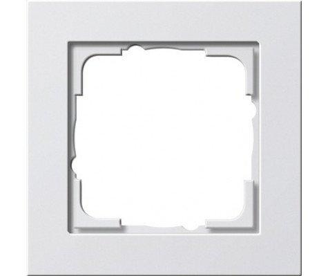 Gira 021122 - Cover Frame 1-gang Pure Wit matt E2
