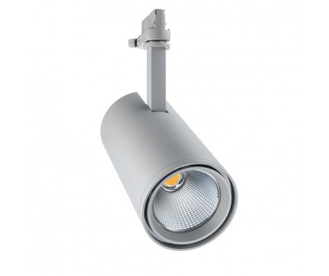 Noxion LED 3-fase Railspot 3-Phase Accento 35W 930 36D Grijs | Hoogste Kleurweergave - Vervanger voor 70W CDM