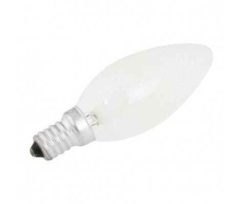 GlobalLux Candle E14 15W 230V Frosted