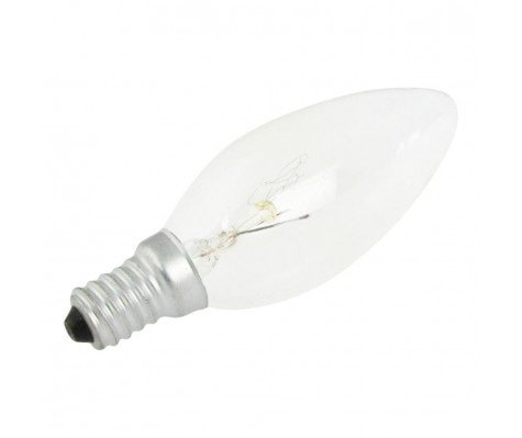 GlobalLux Candle E14 15W 230V Clear