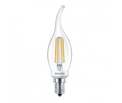 Philips Classic LEDcandle E14 BA35 5W 827 Helder | Dimbaar - Vervangt 40W