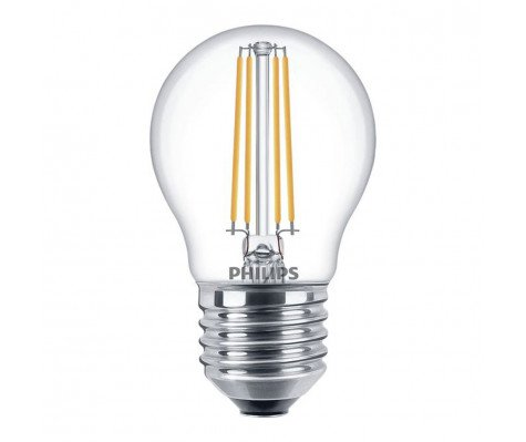 Philips Classic LEDLuster 5-40W 827 E27 Clear Dimbaar