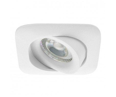 Noxion Square MR16 Spot White (incl. Gu10 fitting) Cutout Ø70mm 40° tiltable