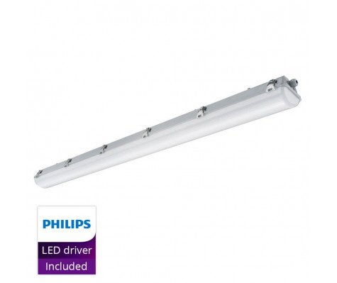 Noxion Waterdicht LED TL Armatuur Pro 150cm 6500K 6600lm   DALI - (5x2.5mm2) - Vervangt 2x58W