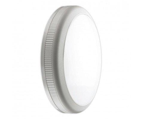 Noxion LED wandlamp Core met sensor 4000K 20W Grijs | Vervangt 2x26W