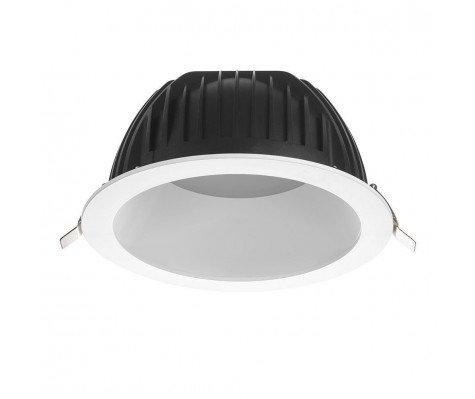 Noxion LED Downlight Opto IP40 4000K 2200lm Ø200mm   DALI Dimbaar