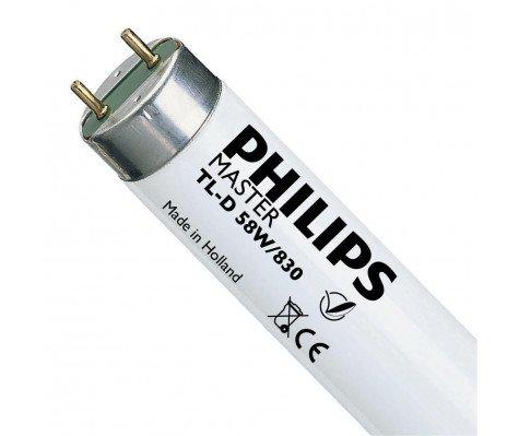 Philips TL-D 58W 830 Wit - 150 cm