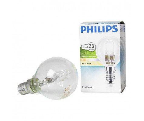 Philips EcoClassic Lustre 18W E14 230V P45 Helder