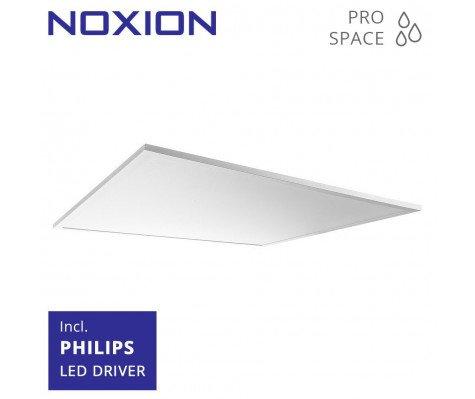 Noxion LED Paneel ProSpace IP44 60x60cm 4000K 28W UGR<19   Vervangt 4x18W