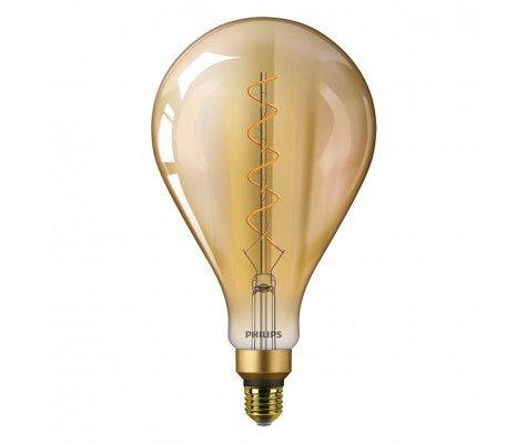 Philips Vintage LEDBulb E27 A160 5W 820 Goud - Vervangt 25W Gloeilamp