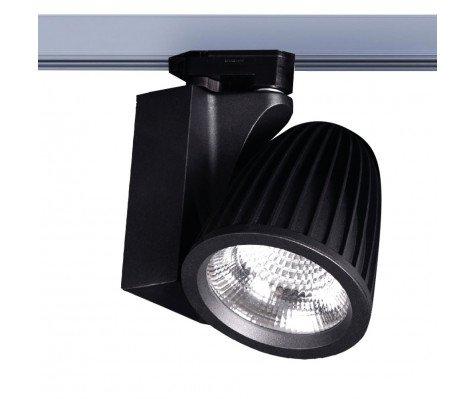 LED Railspot 3 - phase Lisbon - Zwart - 3000lm incl. adapter & driver 3000K