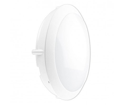 Noxion LED Bulkhead Core Wall/Ceiling 13W 4000K White Round Sensor Ø301mm (2x18W eqv.)
