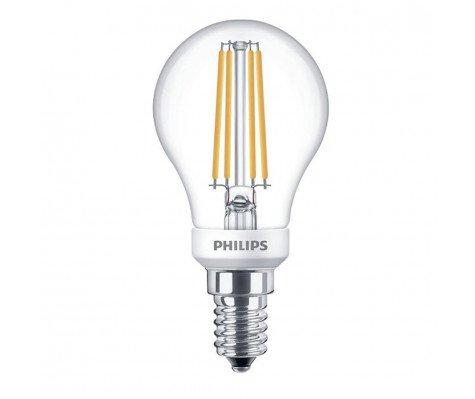 Philips Classic LEDLuster 5-40W 827 E14 Clear Dimbaar