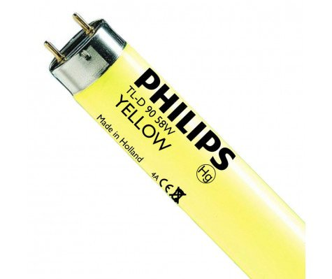 Philips TL-D Colored 58W Yellow 1SL/25