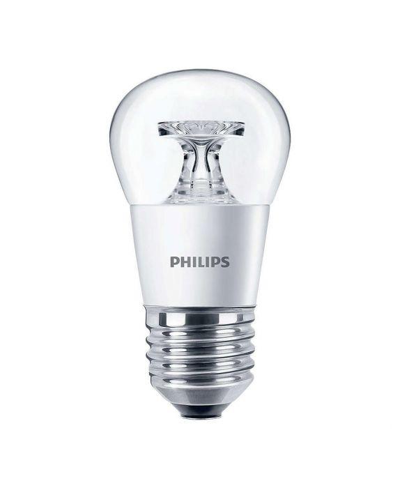 Philips CorePro LEDluster E27 P45 5.5W 827 Helder | Vervangt 40W