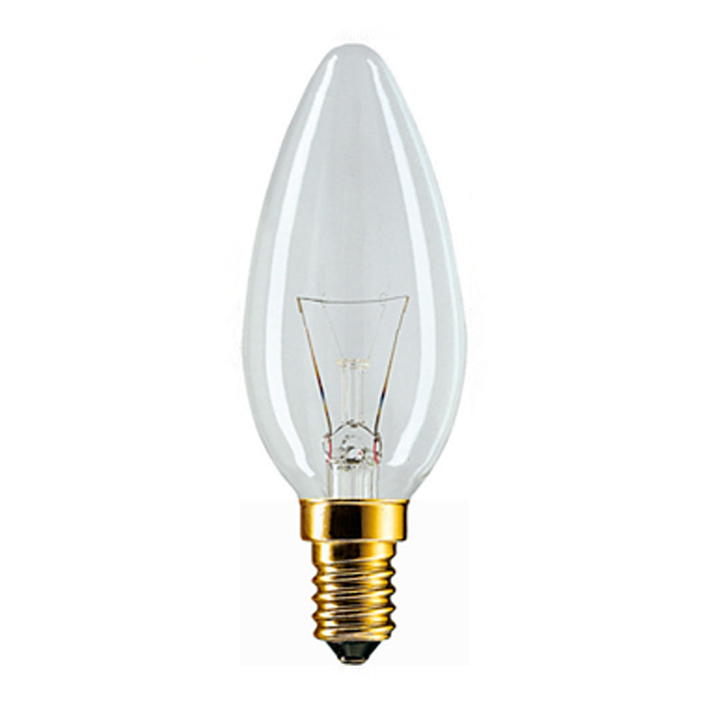 Philips Incandescent Candle 40W E14 230V B35