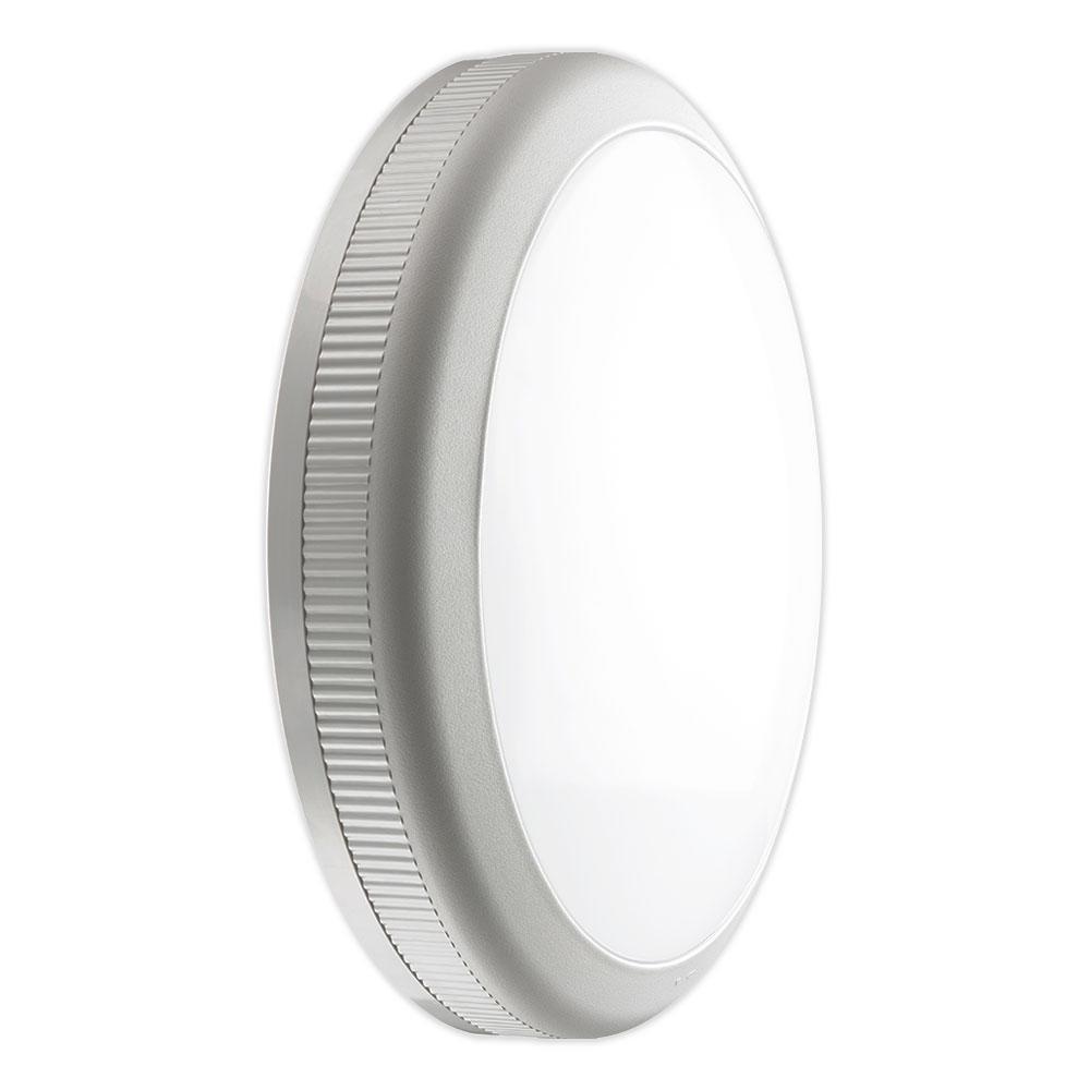 Noxion LED LED Wandlamp Core 3000K 20W Grijs   Vervangt 2x26W