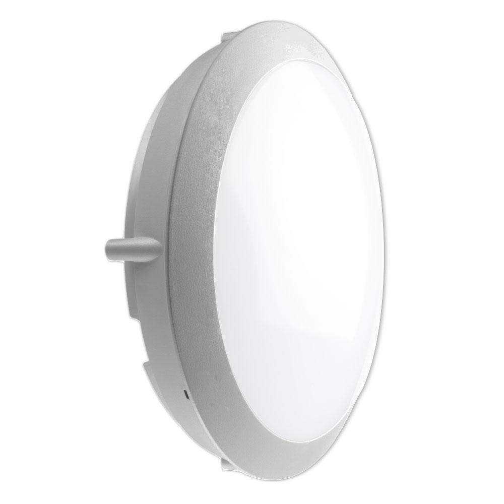 Noxion LED LED Wandlamp Pro 3000K 13W Grijs | 1uur - Vervangt 2x18W