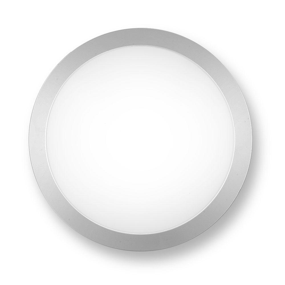 Noxion LED LED Wandlamp Pro 3000K 13W Grijs | Vervangt 2x18W