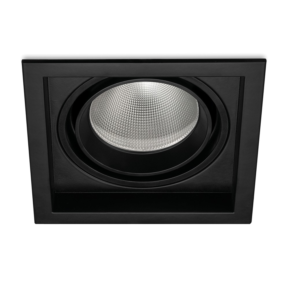 Budgetlight Magnum LED Downlight 30W 840 2500lm Zwart | Dali Dimbaar